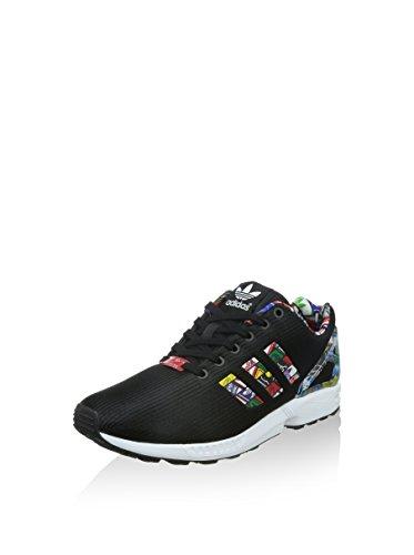 adidas Zx Flux, Baskets Basses Homme Noir
