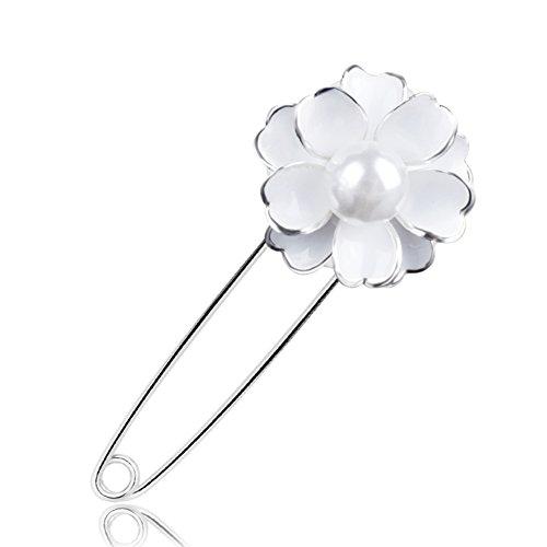Temperamento semplice corpetto/ spilla fiore semplice-A