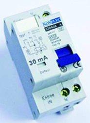 Interrupteur différentiel 40A 2P 30mA type AC borne vis norme
