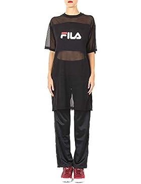 Fila Mujer 682110M67002 Negro Poliamida T-Shirt