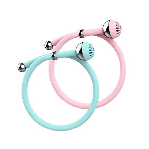 Hengbaixin Mückenabwehr-Armband für Babys und Kinder, Mückenabwehr Artefakt, Schwangere Frauen Anti-Moskito-Armband mit Schnalle im Freien (Blau) Blau/Pink