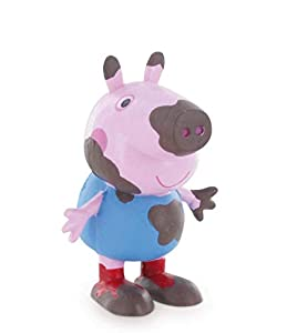 Comansi- Figura Peppa Pig Hermano George Barro, (99688)