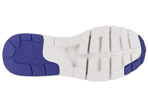 Nike Wmns Air Max 1 Ultra Moire, Chaussures de Sport Femme Blanc Cassé - Blanco (Summit White / Racer Blue-White)