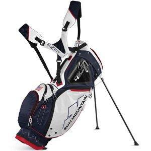 Sun Mountain Four5 Sac de Golf Mixte Adulte, Marine/Blanc/Rouge