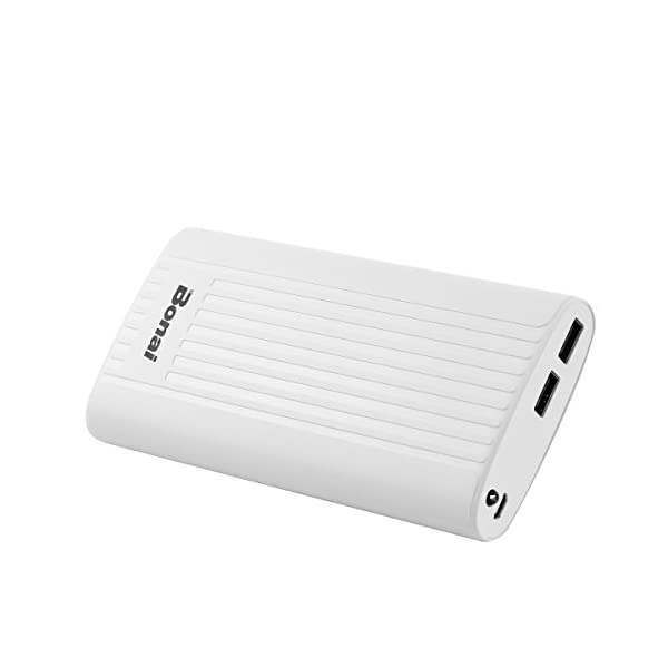 BONAI Powerbank Tascabile 7800mAh[ Universale, 2 Port /2.1A Output, Auto]Caricatore Portatile Carica Batterie Portatili… 2 spesavip
