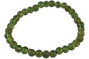 Beautiful Peridot pulsera de perlas de bienestar curación Wicca, energía positiva moda joyas salud corazón riqueza éxito regalo hombres mujeres accesorios Gemstone potente
