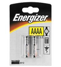 2 Aaaa-alkaline-batterien (Energizer LR 61/E96 (AAAA) 2-BL Alkaline Batterien)