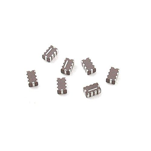 Elektronik componets grau silber Ton 80MHz SMD EMI Filter 7pcs
