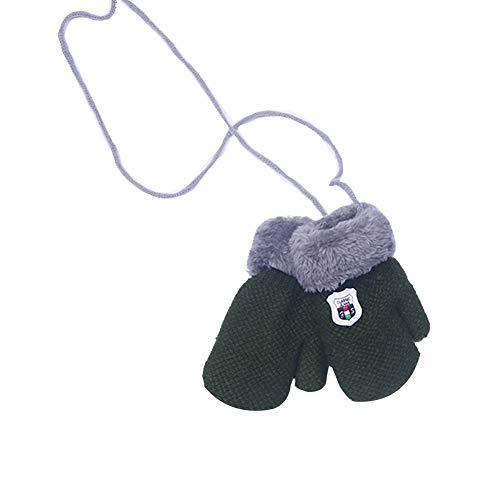 RIsxffp Baby Winter Handschuhe grün -