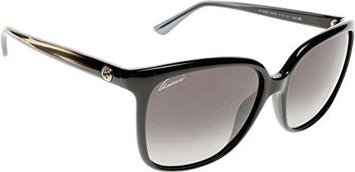 Gucci Sonnenbrille 3696/S HD (57 mm) schwarz