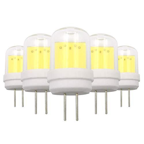 G4-LED-Leuchtmittel, Typ JC, 4 W, COB, 220-240 V, ersetzt 30 W Halogenlampen, 5 Stück
