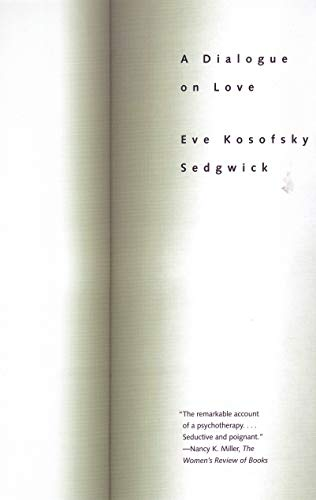 A Dialogue on Love por Eve Kosofsky Sedgwick