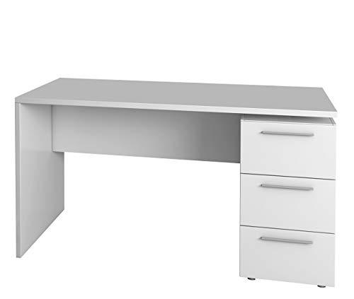 Habitdesign 004605BO - Mesa de despacho 3 cajones