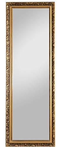 Spiegelprofi H0025015 Holzrahmenspiegel Pius, 50 x 150 cm, Gold