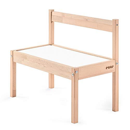 reer Playtime Kindersitzbank - Die Sitzbank fürs Kinderzimmer, Weiß