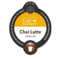 CAFE ESCAPES CHAI LATTE SPECIALTY VUE PACKS 32 COUNT