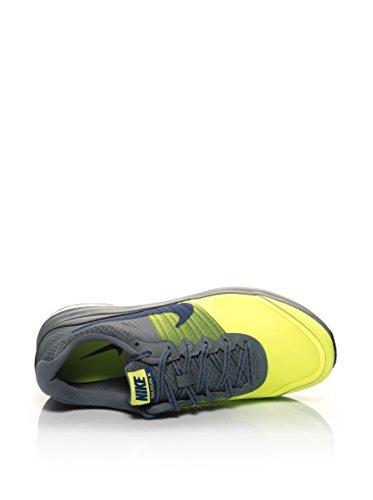 Nike Dual Fusion X, Scarpe da Corsa Uomo Grigio/Giallo