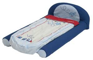 Blue Boys My First Toddler Inflatable Ready Bed