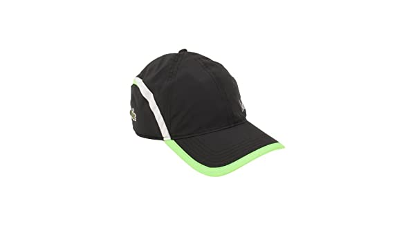 346d2e32 Lacoste Newest Men's Green Croc Poly Andy Roddick Cap in Black ...