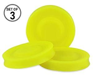 3er Set Mini Frisbee - Die kleine Frisbeescheibe fliegt über 60 Meter weit -...
