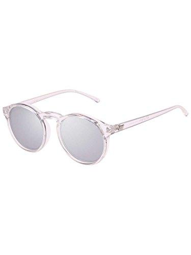 Le Specs Damen Sonnenbrille Cubanos Xtal Clear
