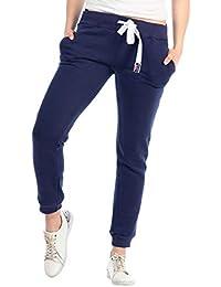 1e6aad0db0bd33 KENNY BROWN Jogginghose Damen Sweatpants Sport-Hose 100% Baumwolle  gemütlich Slim-Fit 521