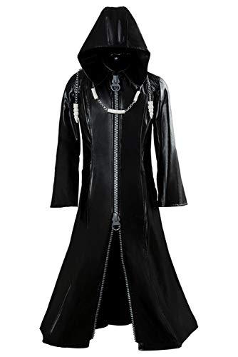 Tianxinshop Organisation XIII Pleather Mantel Jacket Herren