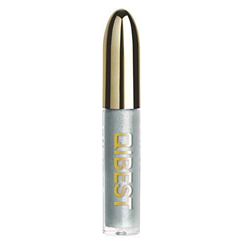 friendGG Damen Glitter Flip Metallic Matte Flüssiger Lippenstift Candy Shiny Lipgloss Multi-Color...