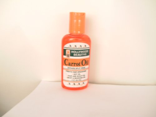 Hollywood Beauty - Hollywood Beauty Carrot Oil Repairs Split Ends 59.2 - Volume : 60 ml.