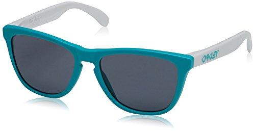 Oakley Herren Frogskins Sonnenbrille, Schwarz, 55 mm