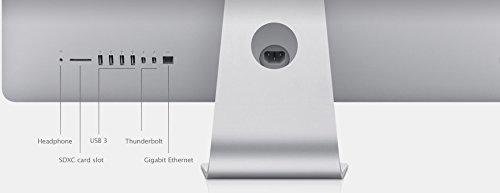 Apple iMac 21.5 4th Gen Quad Core i5-4570R 2.7GHz 8GB 1TB WiFi Bluetooth Camera macOS High Sierra (Refurbished) Img 3 Zoom
