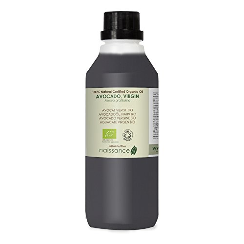 Naissance Aguacate BIO - Aceite Vegetal Prensado en Frío 100% Puro - Certificado Ecológico - 500ml