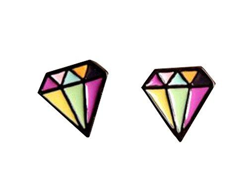 Ein Paar billige Ohrclips für Kinder / Erwachsene Clip-on Ohrringe Party Favor