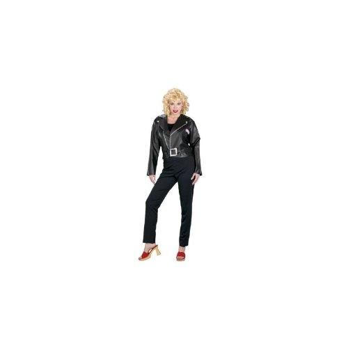 Unbekannt Grease Sandys Cool Kostüm - Schwarz - Frau Small (Danny & Sandy Grease Kostüm)