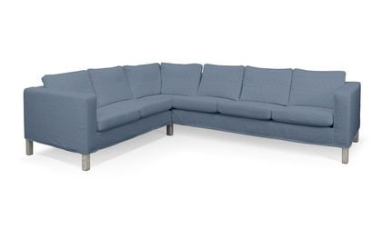 Cover for IKEA KARLANDA Corner Sofa Short Cover Right Blue Chevy in Florence by Saustark beige Design