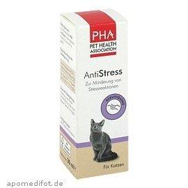PHA Katze, Minderung von Stressreaktionen, Tropfen, Für alle Katzen geeignet, AntiStress, 30 ml