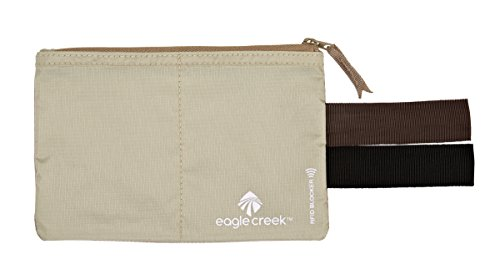 Eagle Creek Travel Security RFID Blocker Hidden Pocket 055 tan -