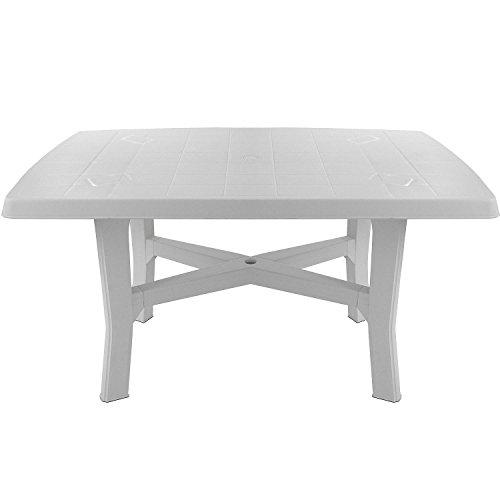 Robuster Gartentisch  rechteckige Tischplatte