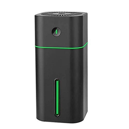 BZBRLZ Mini Tragbarer Luftbefeuchter USB Humidifier mit 7 Farben LED-Licht, flüsterleise automatische Abschaltung einstellbar Nebel Luftbefeuchter Geschenk für Kinder Baby Büro Auto Schlafzimmer