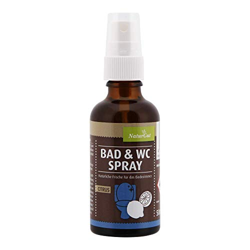 BAD & WC-SPRAY CITRUS Frisches Örtchen 50 ml Duftspray Raumspray - 50 Ml Bad