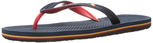 Quiksilver Haleiwa, Tongs Homme Blue/Red/Blue