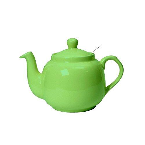 London Pottery Ferme traditionnelle filtre Théière verdure 2 4 6 tasses, Greenery 6 Cup Farmhouse