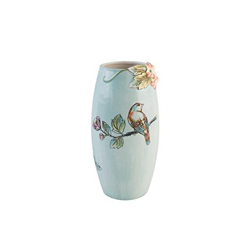 Fitz and Floyd 21-068 English Garden Vase, babyblau Fitz & Floyd Vase