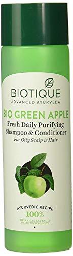 Biotique Bio Green Apple täglich frisch Purifying Shampoo und Conditioner für fettiges Haar und Kopfhaut, 190ml - (Verpackung aufgrund neuer Ankunft variieren kann) -