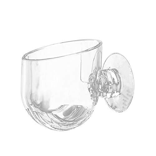 Oneriverspring40 Mini Vaso di Fiori Creativo Acquario Fish Tank Glass Plant  Cup Worm Red Feeding Container Holder Plant Cup (Color : Transparent)