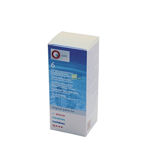 Original 6x Bosch Siemens-Pastillas descalcificadoras descalcificador Tassimo BSH 310967