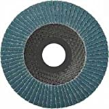 10 Stück Fächerscheiben 115 x 22,23 mm Korn 80 für Metall und Holz, Fächerscheibe Schleifmopteller