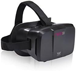 Woxter Neo VR1 Black - Gafas de realidad virtual 3D compatibles con smartphones iOS y Android
