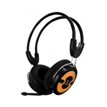 Circle Concerto 202 Multimedia Headphones with mic (Orange)
