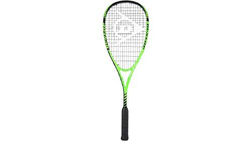 Dunlop Squash Blackstorm Power 2.0 HL Racket, Schwarz / Grün, One Size